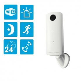 IP wireless monitoring HD camera + WiFi + IR Night Vision + Micro SD support