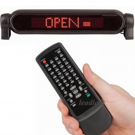 Auto LED Programmierbare Anzeigetafel - 42 cm x 8,5 cm