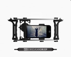 DreamGrip Evolution PRO - Universal adjustable set for smartphones, cameras and digital mirror cameras