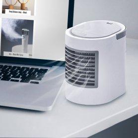 Mini hordozható légkondicionáló + mikro USB ventilátor
