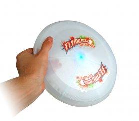 Frisbee - létající talíř LED svítící 7 RGB barev