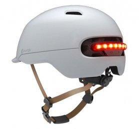Cască de bicicletă inteligentă - lumină LED automată + lumină de frână