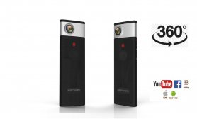 Panoramic 360° pocket HD camera + WiFi and telescopic holder