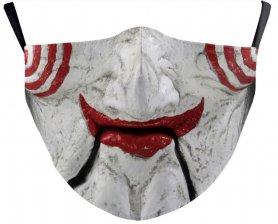 Mască JIGSAW pe față - 100% poliester