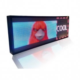 Wifi LED-Banner - Vollfarbdisplay 100 cm x 27 cm