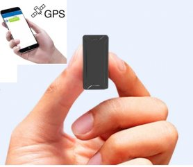Mini GPS tracker for  with magnet - 1000 mAh battery + remote voice monitoring
