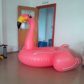 Flamingo pool float - hit poletja!