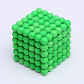 Neocube magnetic balls - 5mm fluorescent (glowing in the dark)