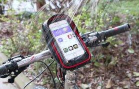 """Carcasă pentru telefon mobil bicicletă impermeabilă cu ecran tactil TPU de până la 6 """""""