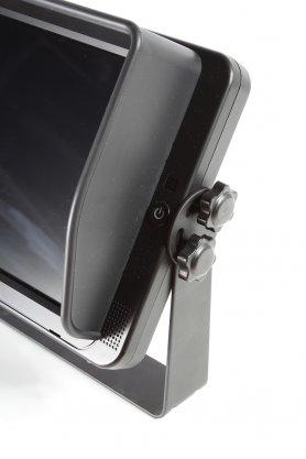 """10"""" palcový cúvací HD monitor s dotykovou obrazovkou + 4 FULL HD vstupy"""