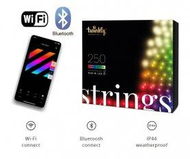 Lampki choinkowe SMART - LED Twinkly Strings - 250 szt. RGB + W + BT + Wi-Fi