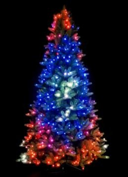 アプリ制御のクリスマスツリーSMART2,3m-LED Twinkly Tree-400 pcs RGB + W + BT + Wi-Fi