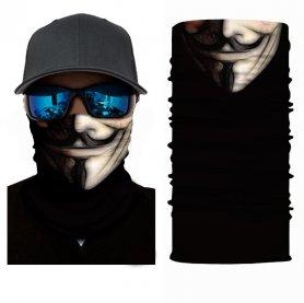 VENDETA (Anonyme) - écharpe de protection sur le visage ou la tête