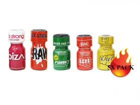 Poppers Pack - 5x Mixed