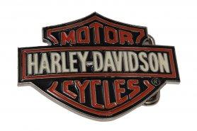 Harley Davidson - пряжка для любителей мотоциклов