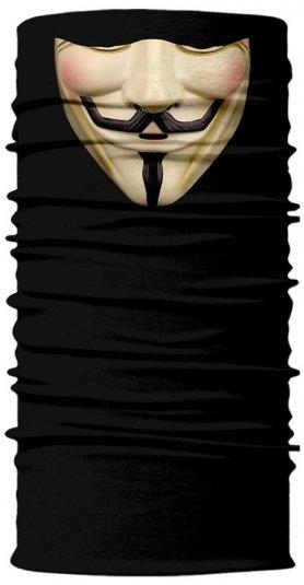 Anonymous (VENDETA) - Šatka na tvár či hlavu