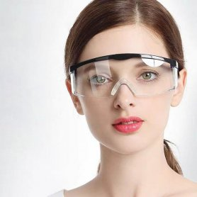 Safety glasses transparent anti-fog with HD lenses​