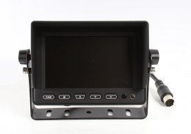 "5"" LCD monitor with the possibility to connect 3 reverse cameras"