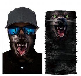 男性と女性のためのユニセックスヘッドスカーフ-バスカービルの猟犬