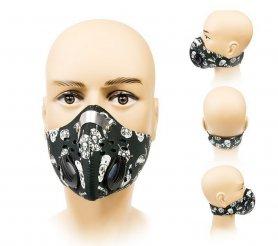 Mascarilla facial de neopreno con filtración eficaz - XProtect pirate