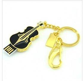 Скрипка USB - клавішні ювелірні вироби