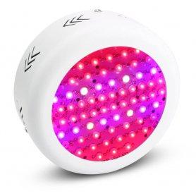 Lampu LED UFO 130W untuk pertumbuhan tanaman di interior dengan spektrum warna penuh