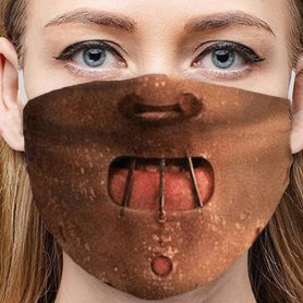 HANNIBAL LECTER - Protective face mask 100% polyester