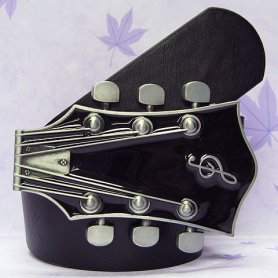 Belt buckle - Guitar