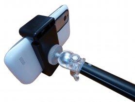 Mástil telescópico con el bluetooth del obturador Línea Maestro