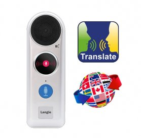 Traducteur Pocket - traduction vocale bidirectionnelle en ligne / hors ligne LANGIE en 52 langues