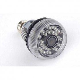 Izzó kamera kém FULL HD + WiFi + 24x IR LED 120 ° szöggel