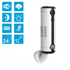 Wireless IP monitoring HD camera with 3G + WiFi + IR night vision + micro SD support