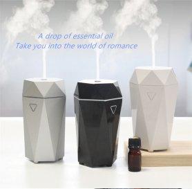 Umidificador de ar + ambientador portátil com aromaterapia