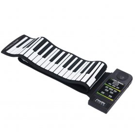 Electric scrolling piano keyboard with 88 keys + speaker