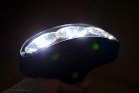 LED zseblámpa - Mini széles 7,7x5,3 cm TripleLite (180 °/50 lumen)