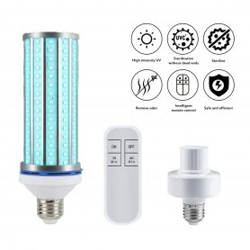 SMART UVC LED bulb for disinfection and sterilization (60W)