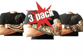 3xPack Tattoo sleeves at a good price