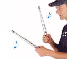 Electronic drum sticks