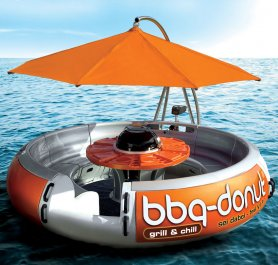 Party boat - BBQ Donut