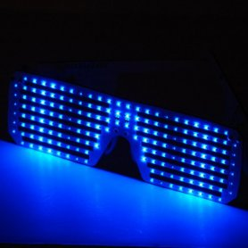 Programmable LED glasses - Write your message