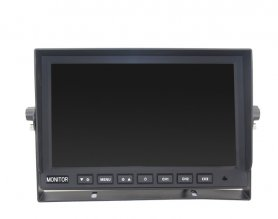"AHD 7 ""LCD Car Monitor + 3 AV Inputs"
