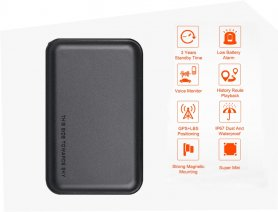 GPS tracker for car waterproof with magnet - 3 years battery life
