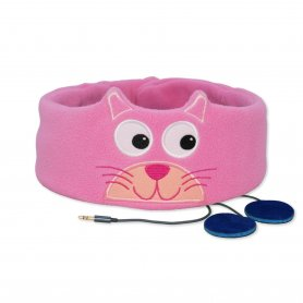 Snuggly Rascals headband with headphones - Kitten