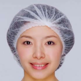 Disposable polypropylene protection head cap