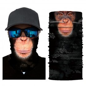 Protective bandana or scarf for face - MONKEY