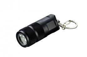LED flashlight small and powerful 100 lumens with a pendant