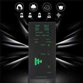 Modificatore vocale per chiamata (7 modalità) + cuffie con microfono