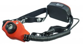 LED headlamp powerful - 180 lumens with light and body sensor