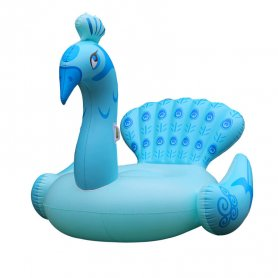 Pool floats for adults - Blue peacock