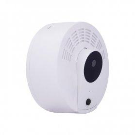 フルHD煙探知器に隠されたカメラ+ 1年のバッテリー寿命+ IR LED + WiFi +モーション検出